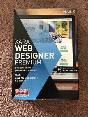 Magix Xara Web Designer Premium Version Sealed Software PC 12 Version Lot 2  639191820083 | eBay