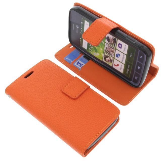 finest selection 3a5dd a9274 Case for Doro Liberto 820 Mini Smartphone Book-style Cases Book Orange