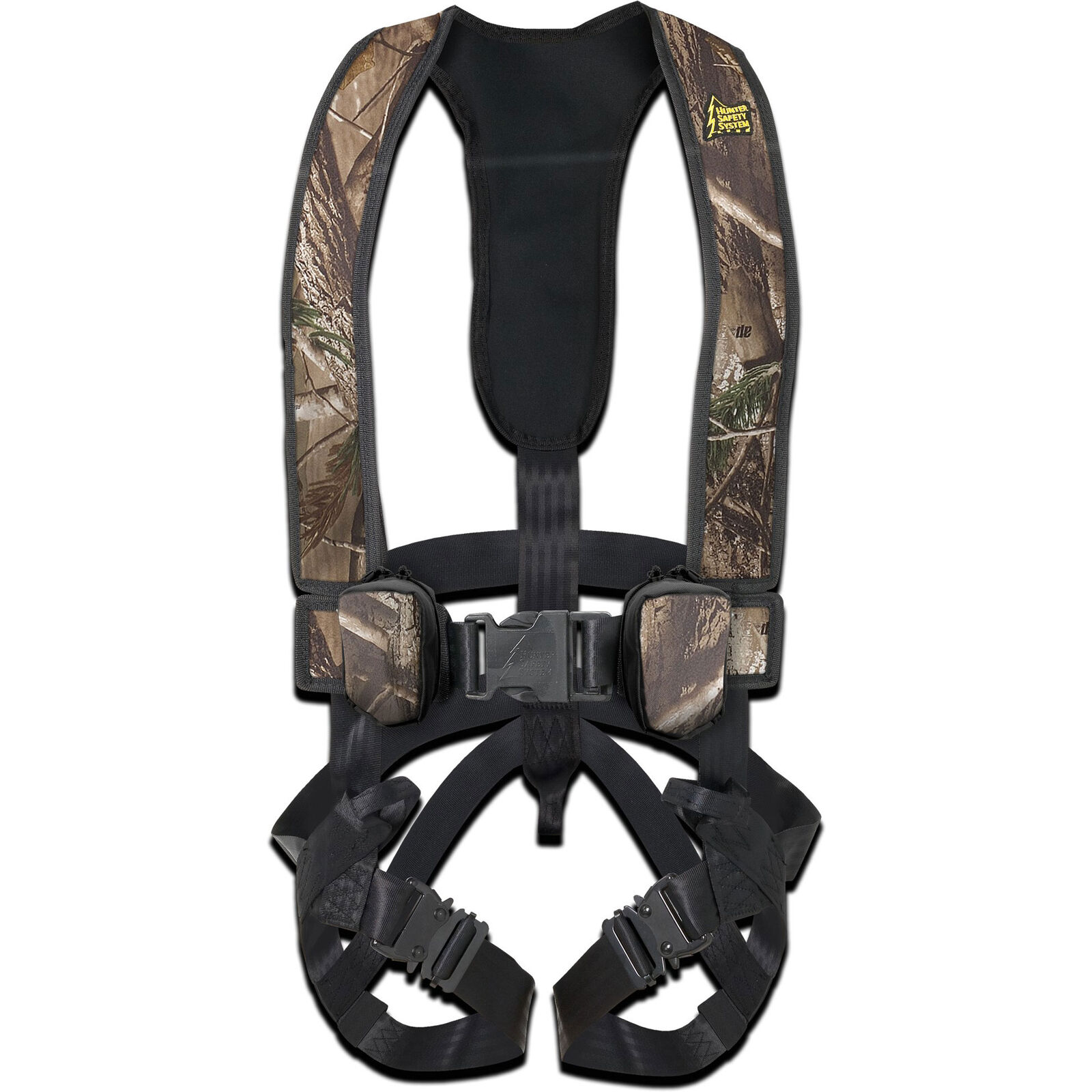 Hunter Safety Systems Alpha Camouflage Tree Hunting Safety Trim Harness, 2XL 3XL