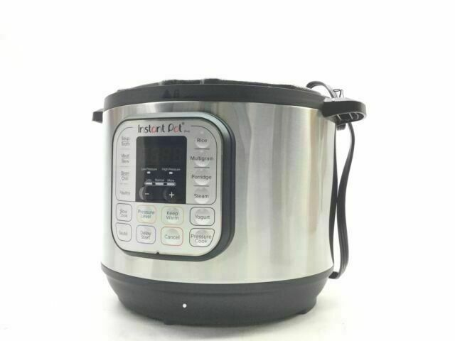 New Instant Pot 8 Qt 7-in-1 Multi-Use Programmable Pressure
