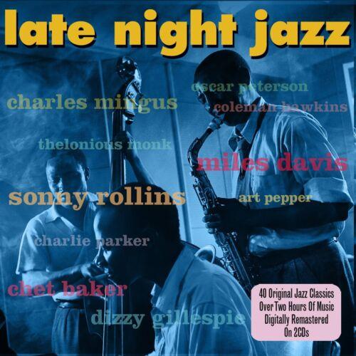 1 of 1 - Late Night Jazz - 40 Original Jazz Classics (2CD) NEW/SEALED