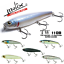 Molix Topwater Floating /& Rattlin' Wtd Lure 110 Baitfish Super Sound