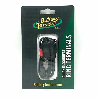 Deltran Battery Tender Ring Terminal Harness w// 2-Pin Quick Disconnect Plug