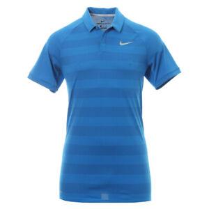 Nike-Golf-zonale-Kuehlung-Stripe-Polo-Shirt-X-Large-Blau-ah8465-465