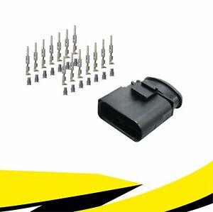 Stecker 14-polig Reparatursatz 6X0973817 für VW AUDI SKODA SEAT MT Crimp Kontakt
