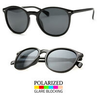 Polarized Oliver Vintage Inspird Fashion Round Circle Key Hole Bridge Sunglasses