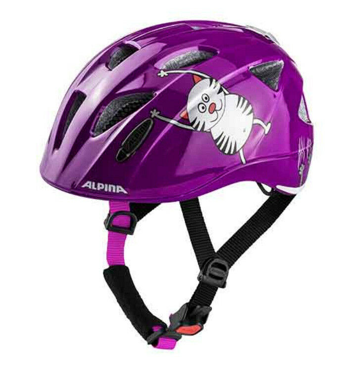 Alpina Kinder Fahrradhelm Ximo Flash purble cat 49-54 cm cm cm 27fde4