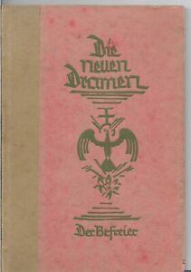Franke-Georg-Hermann-Der-Befreier-1923-Erstausgabe-Widmung