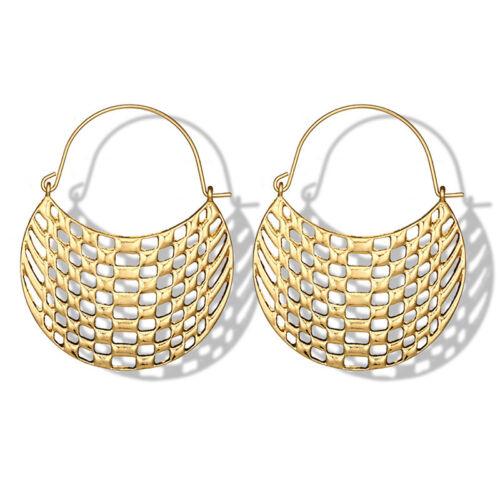 Women Boho Jewelry Ethnic Geometric Drop Dangle Vintage Ear Stud Metal Earrings