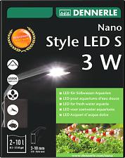 DENNERLE Nano Stile LED S 3w Acquari Luce Per Nano Serbatoi di alta qualità UE MADE