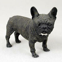French Bulldog Hand Painted Collectible Dog Figurine Statue