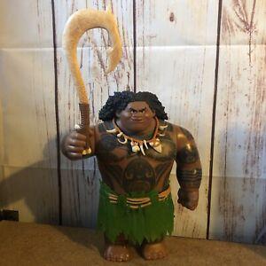 2015 Maui Moana Official Disney figura giocattolo bambola di grandi dimensioni Quick 24H UPS POST