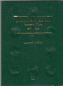 Coin-Folder-for-1964-1985-Kennedy-Half-Dollars-LCF07-Quality-Album-by-Littleton