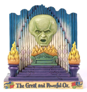 Jim Shore WIZARD OF OZ ~ The Great and Powerful (2 Sided)~ 4033981 NEW IN BOX