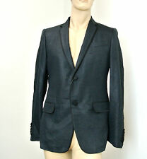 $2900 New Authentic GUCCI Mens Silk Tuxedo Jacket Blazer EU 50R/US 40R #295375