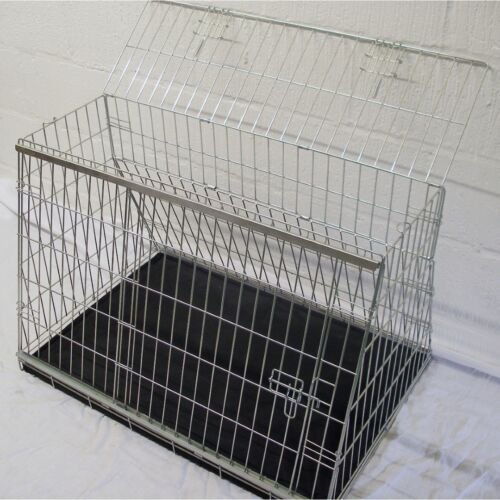 PET WORLD MINI PACEMAN SLOPING CAR DOG CAGE BOOT TRAVEL CRATE PUPPY GUARD