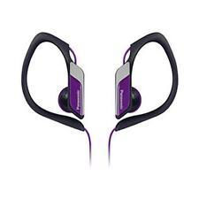 Panasonic RPHS3 Wasser- und schweißbeständig Kopfhörer Joggen Außenbereich Viole