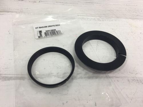 Black LOOK Zed 3 Crank Lock Ring Kit /& Right Ring Kit Set