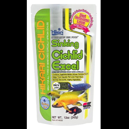 Hikari Sinking Cichlid Excel Mini Pellet 342g Fish Food