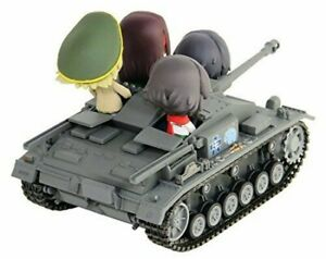 NEW Pair-Dot Girls und Panzer StuG III Ausf.F Ending Ver Friendly Game Figure