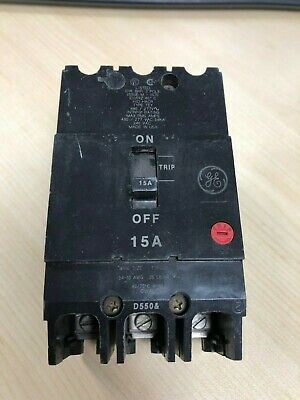 General Electric GE TEY315 3 Pole 15 Amp Circuit Breaker