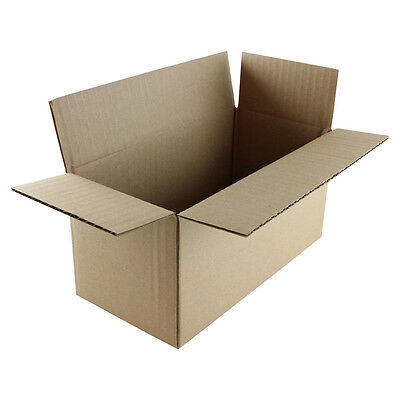 "25 6x4x2 /""EcoSwift/"" Brand Cardboard Box Packing Mailing Shipping Corrugated"