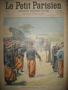 TUNIS-EXECUTION-SOLDAT-5e-BATAILLON-D-039-INFANTERIE-SUICIDE-LE-PETIT-PARISIEN-1902