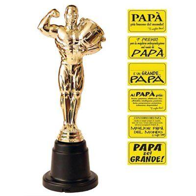 Statuetta oscar premio per papà festa padre babbo festa del papà 2091