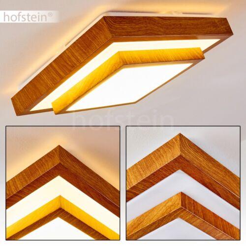 Holz Optik Design LED Decken Lampen Flur Wohn Schlaf Bade Zimmer Luxus Leuchte