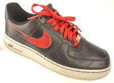 promo code c7c59 57260 item 4 NIKE Air Force 1 Sneakers Men s 8.5 M Black Challenge Red Shoes  488298-070 -NIKE Air Force 1 Sneakers Men s 8.5 M Black Challenge Red Shoes  488298- ...