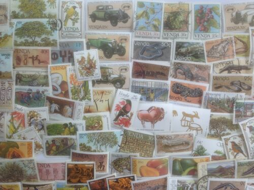 150 Different South Africa Stamp Collection Venda