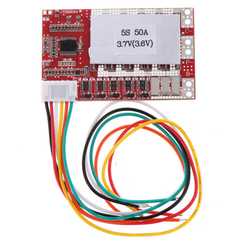 3S//4S//5S 3.7V Polymer Lithium Battery PCB BMS Charge Protection Board BalODUS
