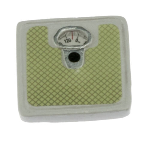 1:12 Scale Miniature Green Platform Scale Dolls House Accessories yu