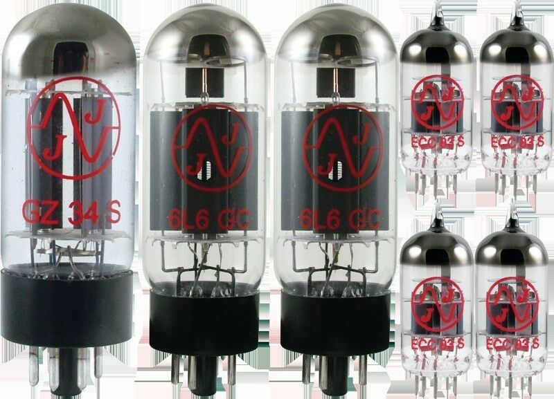 Tube Set - for Fender Vibrolux braun JJ Electronics APEX Matched Power Tubes