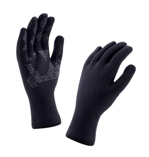 Coupe-vent et respirant-Noir Sealskinz Ultra Grip Gants-Entièrement Imperméable