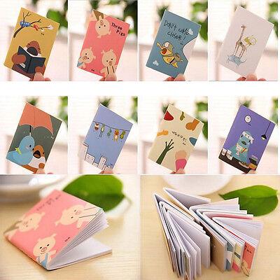 1PCS Cartoon Little Notebook Handy Notepad Paper Notebook Journal Diary
