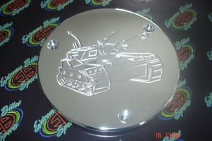 YAMAHA-BANSHEE-BILLET-ALUMINUM-U-S-ARMY-TANK-SIDE-CLUTCH-CASE-COVER-INSERT