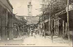 Maroc-cpa-TAZA-Rue-principale-D9887