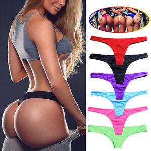 2e6cbebfe22 Image is loading Women-HOT-Brazilian-Cheeky-Bikini-Bottom-Thong-Swimsuit-