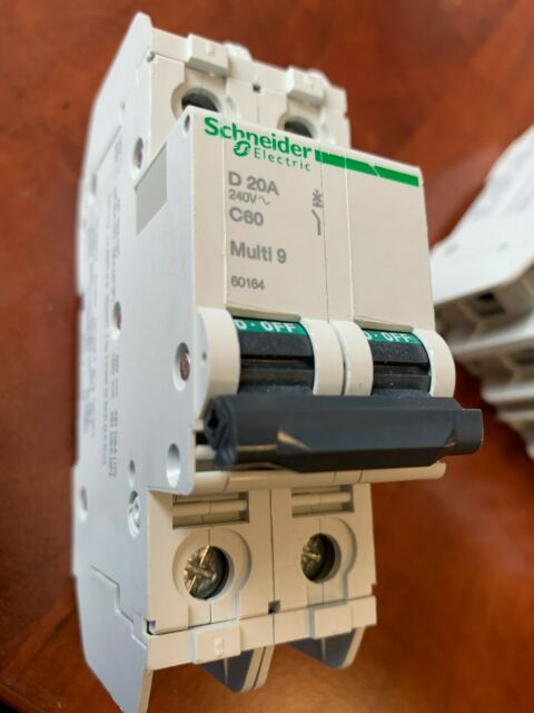 Schneider MG24444 Circuit Breaker Multi 9-C60 UL1077-MCB-2P-3A-C Curve-277V-5kA