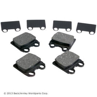 BECK//ARNLEY 082-1285 Premium Organic Disc Brake Pads Rear FREE SHIPPING!
