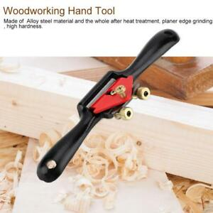 Alloy-Steel-Woodworking-Spoke-Shave-Manual-Planer-Plane-Deburring-Hand-Tools-9-034