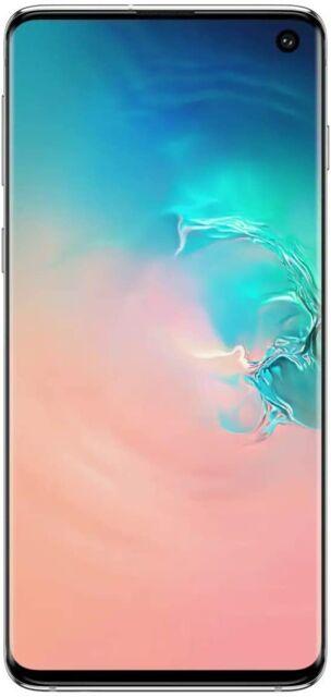 Samsung Galaxy S10 SM-G973U - Unlocked Prism White