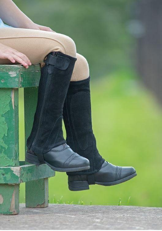 Shires suede half chaps  moretta  ldren  ld riding accessories  brands online cheap sale