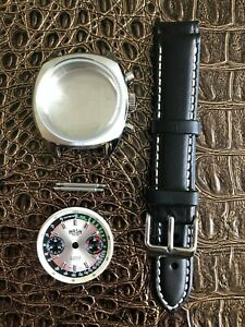 ARSA-Chronograph-Retro-Uhrenkit-fuerETA-Valjoux-7733-SWISS-MADE-Uhrengehaeuse