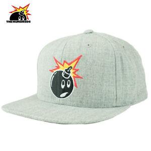 1fce5f454ba The Hundreds Adam Snapback Baseball Cap Hat A. Heather OS NWT  32 40 ...