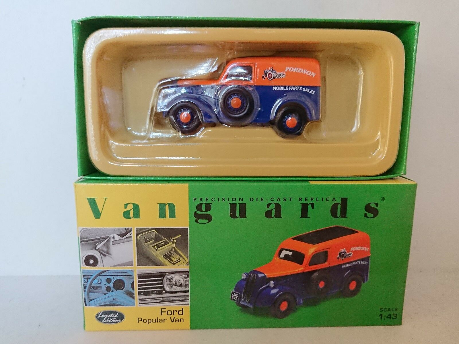 Corgi VA06200 Ford Popular Van FORDSON Ltd Edition No. 0004 of 4100
