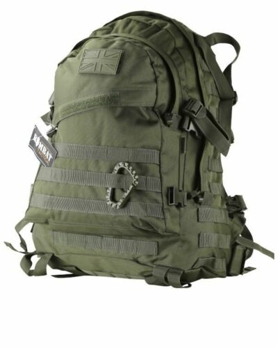 GREEN SPEC OPS PACK 45 LITRE BAG RUCKSACK MOLLE Army Military backpack bags