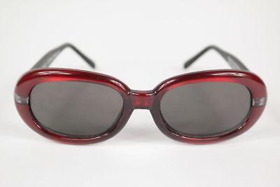 Apprensivo Vintage G Spot Orchid 52 [] 18 Rosso Ovale Occhiali Da Sole Sunglasses Nos-mostra Il Titolo Originale Delizie Amate Da Tutti