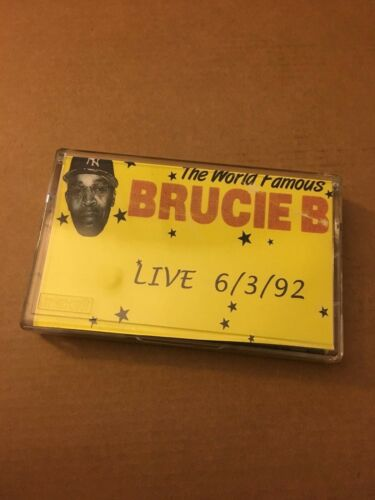 DJ BRUCIE B Live 6-3-92 RARE NYC 90s Hip Hop Cassette Mixtape Tape